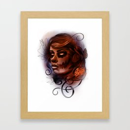 undead Framed Art Print