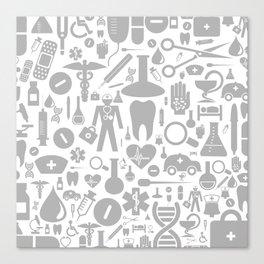 Medical background Canvas Print