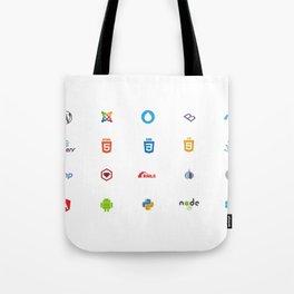 Programming Logos / Symbols Tote Bag