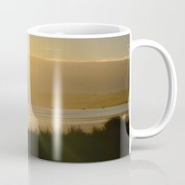 NEW ZEALAND SUNSET OVER THE LAKE Coffee Mug