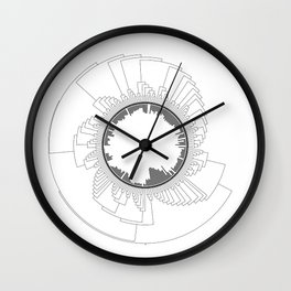 Tree of Life (White) Wall Clock