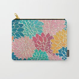 Floral Abstract 35 Carry-All Pouch