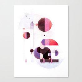 Rainbow swinger Canvas Print