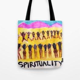 Spirituality Tote Bag
