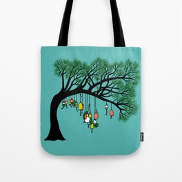 Buoy Tree by Seasons K Designs for Salty Raven Tote Bag
