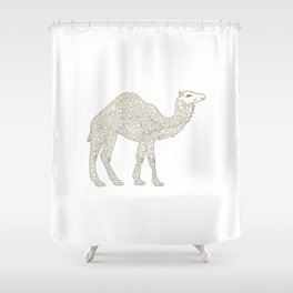 Yellow Camel Shower Curtain