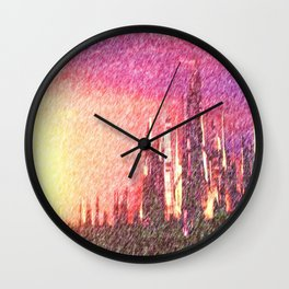 Alteran sunset Wall Clock