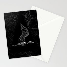 pterodactylus x-ray Stationery Cards