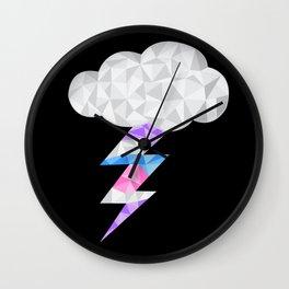 Intersex Storm Cloud Wall Clock