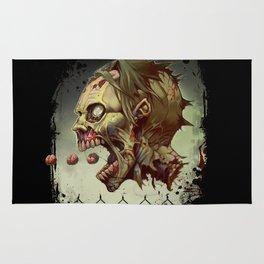 Pac-zombie Rug