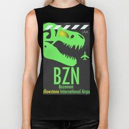BZN Bozeman Yellowstone airport code Biker Tank