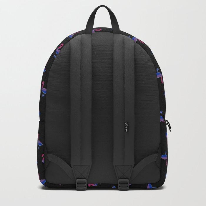 Bi Pride Swan Backpack