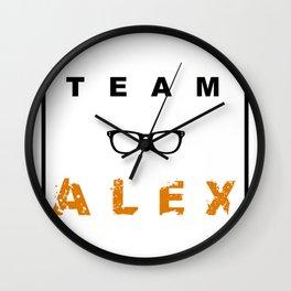 Team Alex Wall Clock