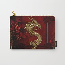 Wonderful golden chinese dragon Carry-All Pouch