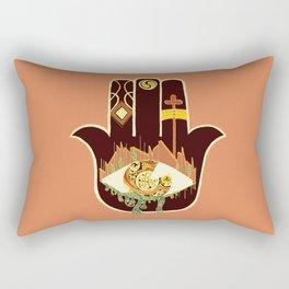 eye rho Rectangular Pillow