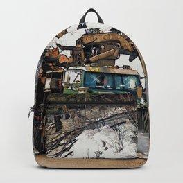 I Log In - I Log Out Backpack