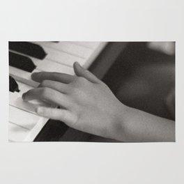petite fille au piano, june 2018 Rug