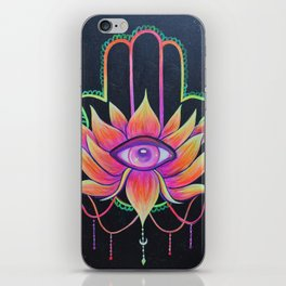 Hamsa Love iPhone Skin