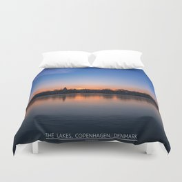 The Lakes, Copenhagen Duvet Cover