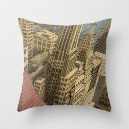 New York, Neeeew Yooooork!! Throw Pillow