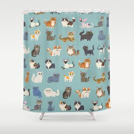 Cats! Shower Curtain