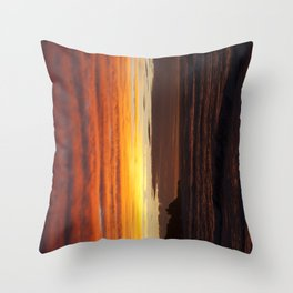 When the sky turns Throw Pillow