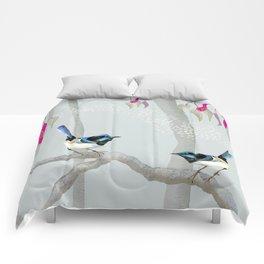 Blue Wren Australian Birds Comforters