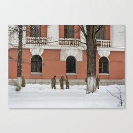 Winterworks Canvas Print