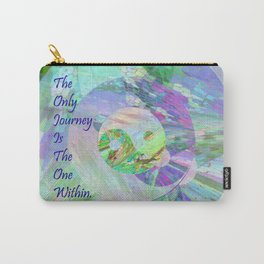 The Only Journey Is The One Within / Rilke Carry-All Pouch
