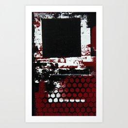 Abstract Series 4 no3 Art Print