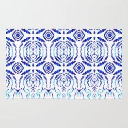 Magic Blue Pattern Rug