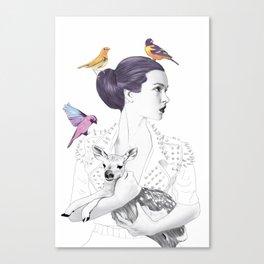 Princess Spike Canvas Print