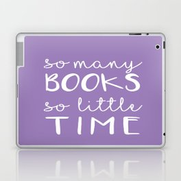 so many books, so little time Laptop & iPad Skin