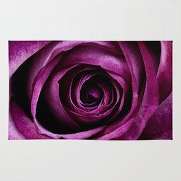 Purple Rose Rug