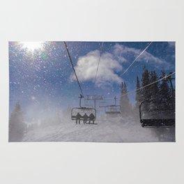Snow and Sun Light Rug