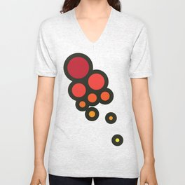 Bubbles Unisex V-Neck