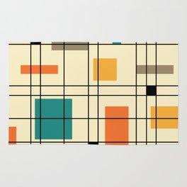 1950's Abstract Art Rug