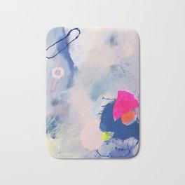 abstract joyful and wild meadow_001 Bath Mat