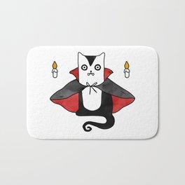 Vampire Cat – Dracula suit Bath Mat