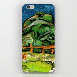 Mysterious Hill iPhone Skin