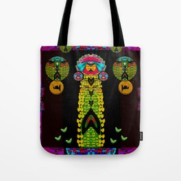 Mermaids with tail in the big blue Tote Bag