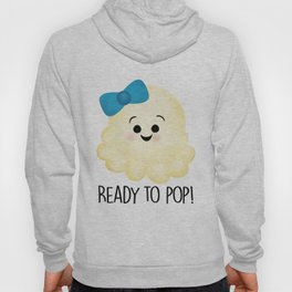 Ready To Pop - Popcorn Blue Bow Hoody