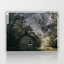 Mountain Cabin - Landscape and Nature Photography Laptop & iPad Skin