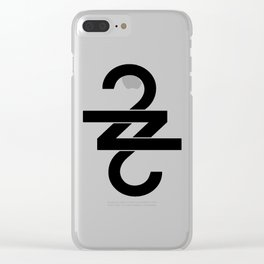 22 (Over Soon) Clear iPhone Case