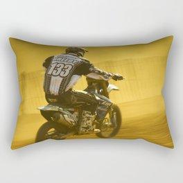 Golden dust Rectangular Pillow