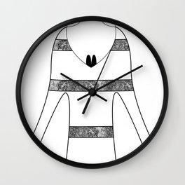 amores ciervos Wall Clock