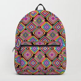 Neon Hookah Backpack