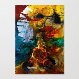 Monk Trip Canvas Print