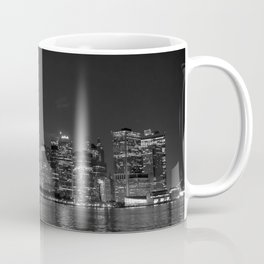 Downtown Manhattan Staten Island Ferry Coffee Mug