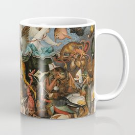 The Fall of the Rebel Angels, 1562 by Pieter Bruegel the Elder Coffee Mug